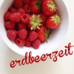 2 erdbeerige Rezepte + Muffinförmchen-Printable