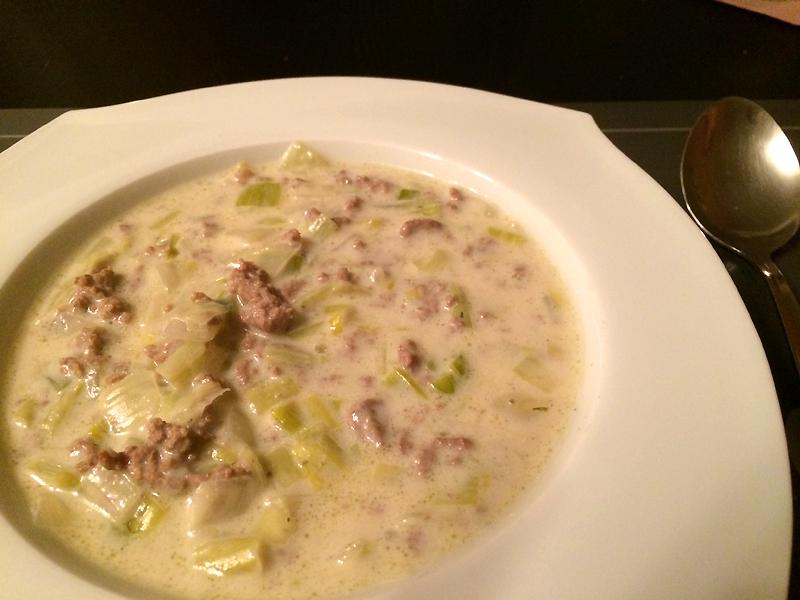 Rezept: Käse-Lauch-Suppe