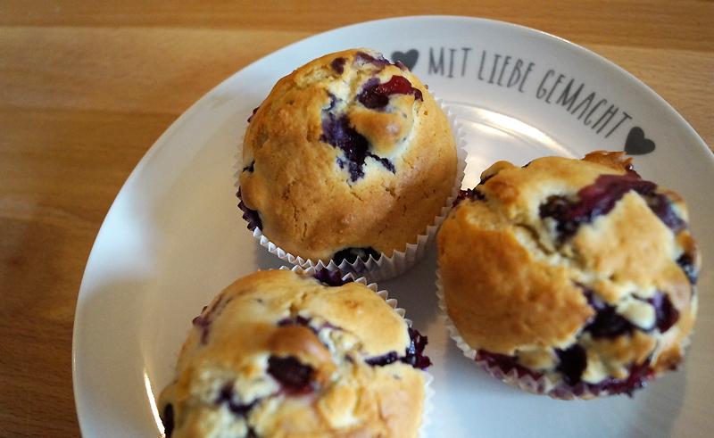 Rezept: Lieblings-Blaubeermuffins