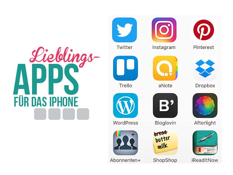 App-Essentials fürs iPhone  – Meine 12 Lieblingsapps
