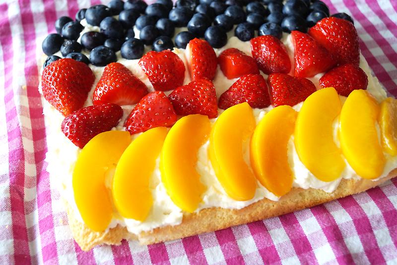 Schland-Kuchen & Frucht-Spieße zur EM