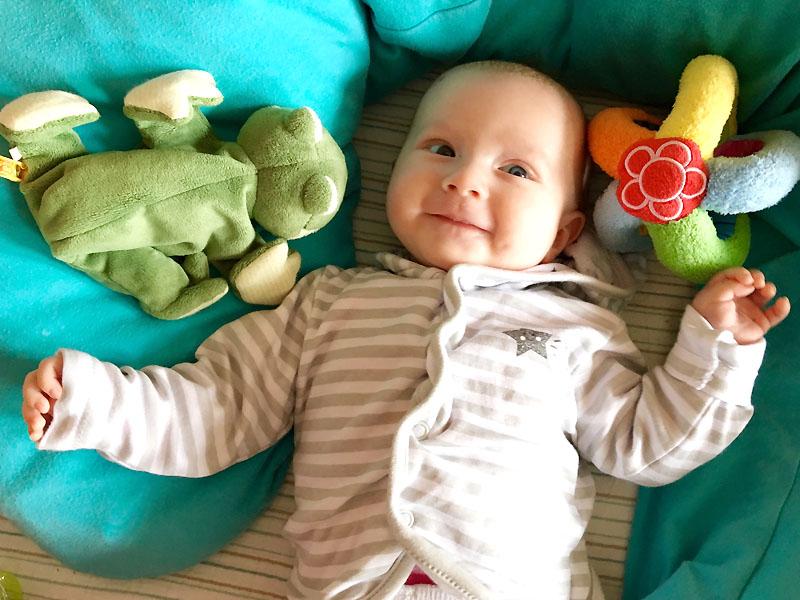 3 Monate Mini-Prinzessin