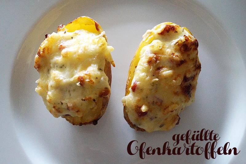 Rezept: Gefüllte Ofenkartoffeln