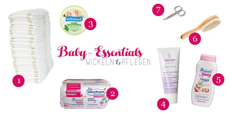 Baby-Essentials - Wickeln & Pflegen