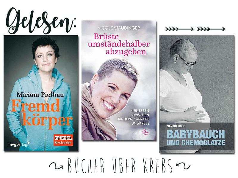 Gelesen_ Bücher über Krebs