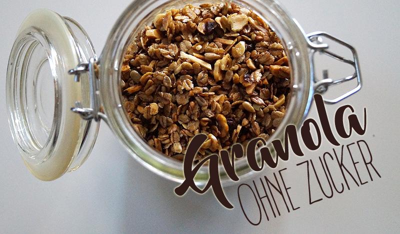 Rezept: Granola ohne Zucker