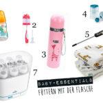 Baby-Essentials: Füttern mit der Flasche & Beikoststart