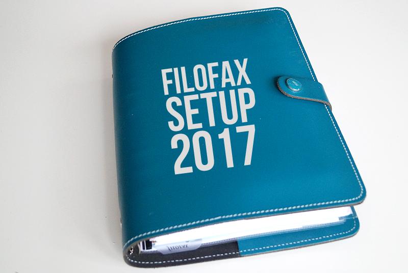 Filofax Setup 2017