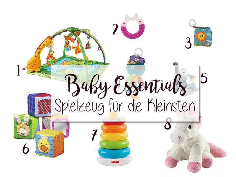 Baby-Essentials: Spielzeug für die Kleinsten