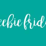 Freebie Friday: Fitness Tracker & Running Log