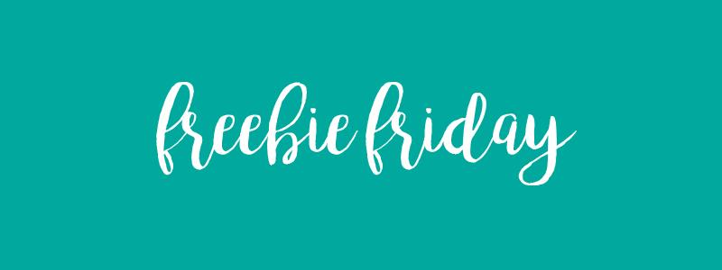 Freebie Friday #1