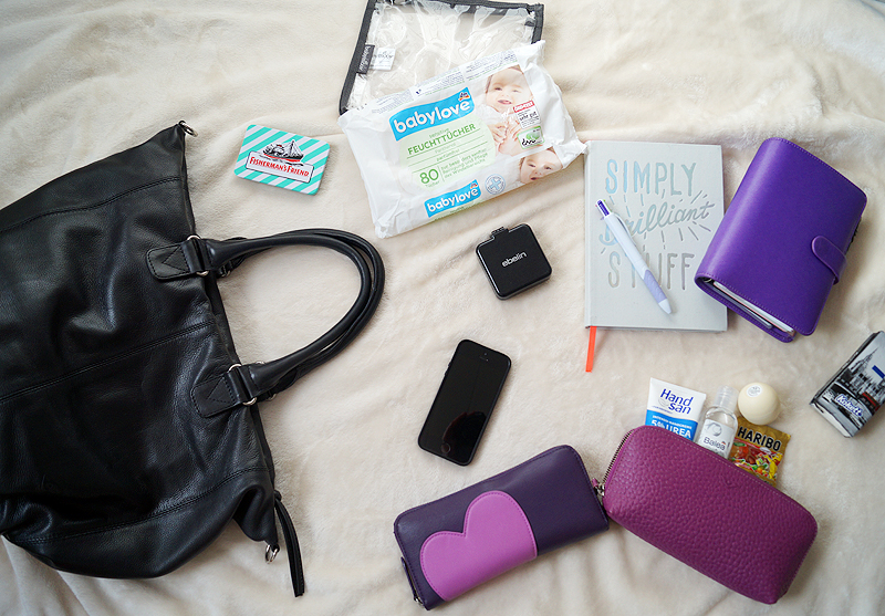 Meine Handtaschen-Essentials {What's in my bag}
