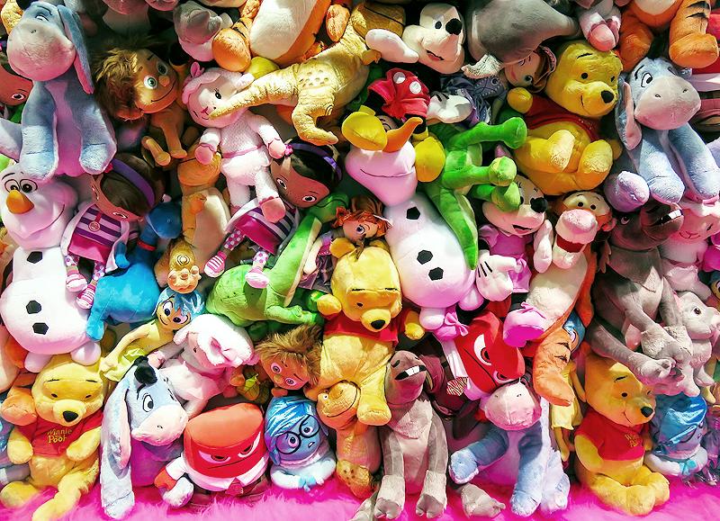 Zu viel Spielzeug
