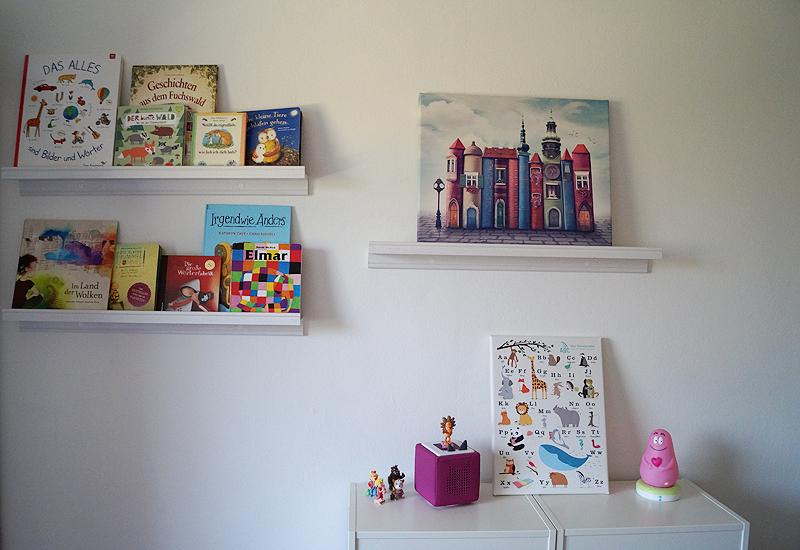 Wandbild Kinderzimmer | Wandbild Kinderzimmer 4 Klitzekleinedinge