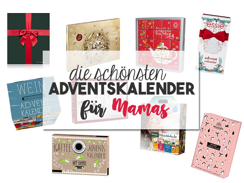 Die schönsten Adventskalender für Mamas