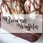 Rezept: super-schokoladige Brownie-Waffeln