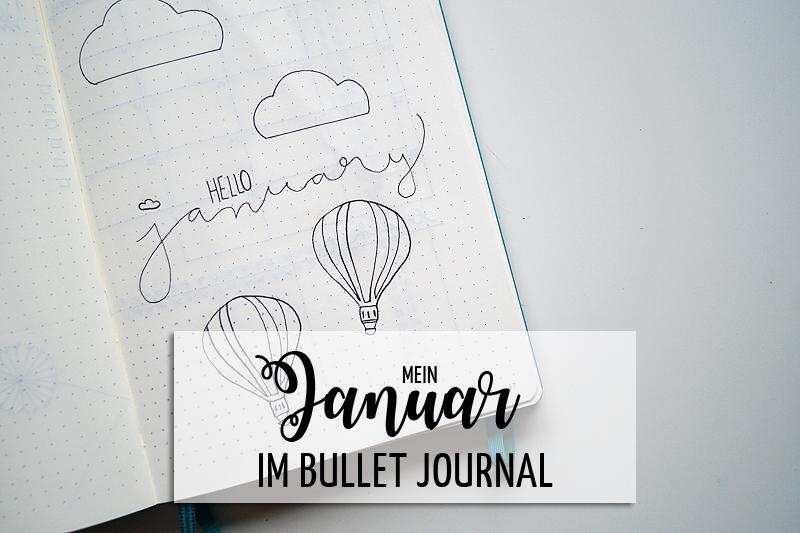 Den Januar planen im Bullet Journal