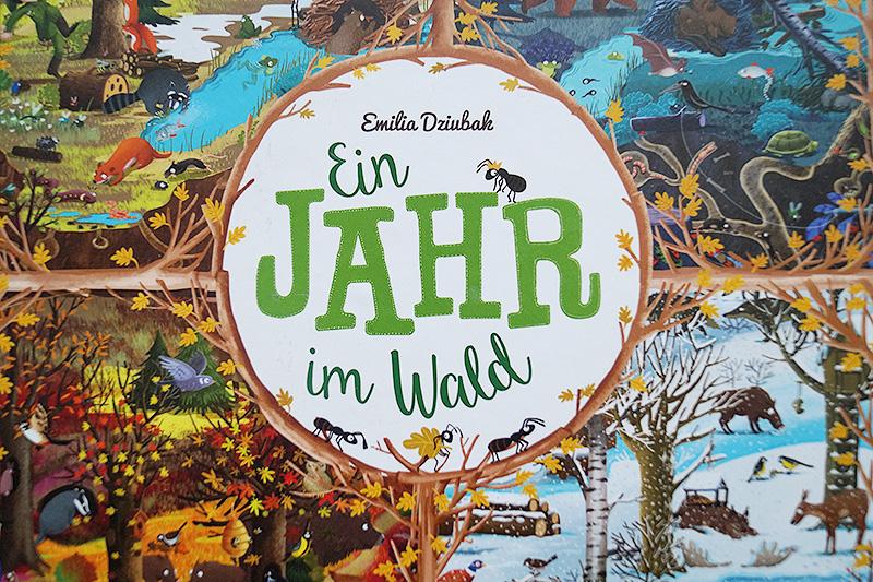 Kinderbuchliebling im Januar | Ein Jahr im Wald