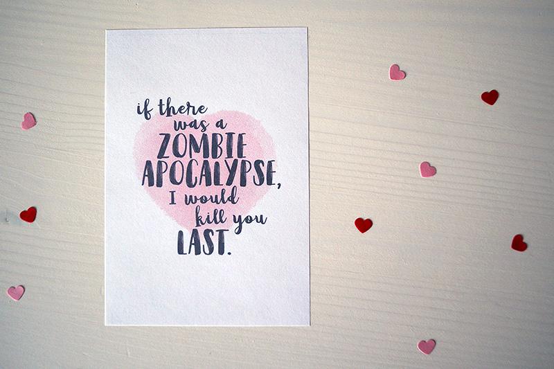 Lustige Karten zum Valentinstag | klitzekleinedinge