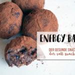 Energy Balls - Der gesunde Snack, der satt macht {Let's cook together}