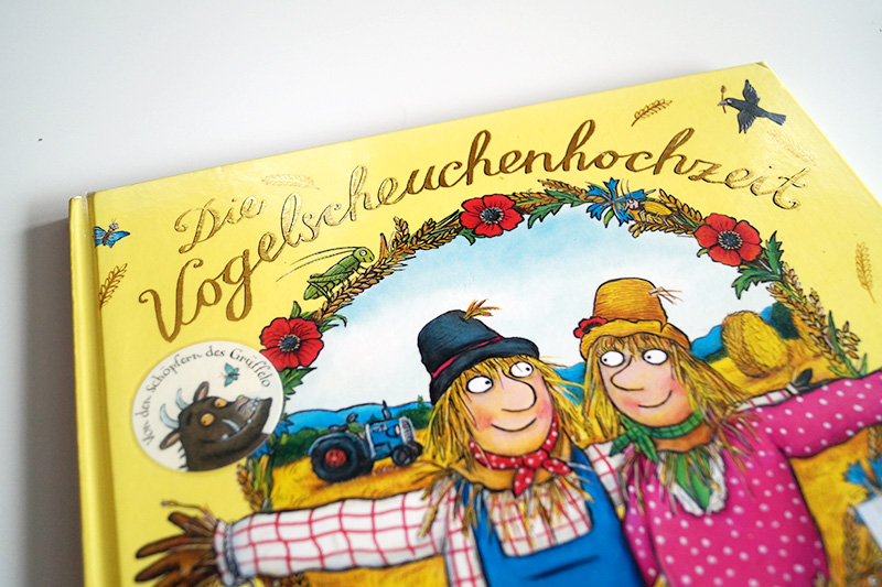 Kinderbuchliebling | Die Vogelscheuchenhochzeit von Axel Scheffler | klitzekleinedinge