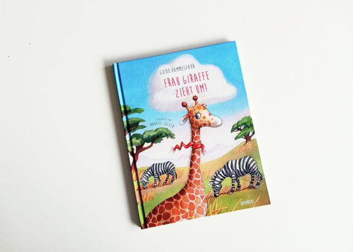 Rezension | Kinderbuchliebling | Frau Giraffe zieht um