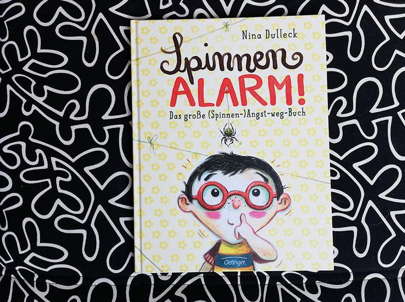 Kinderbuchliebling | Spinnen-Alarm!
