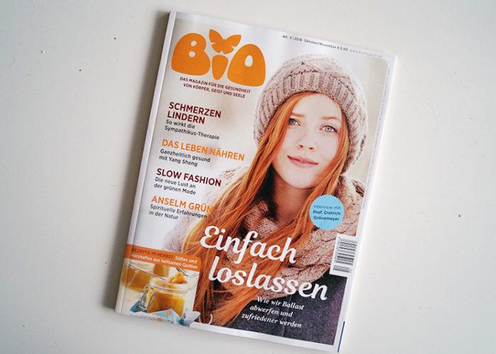 BIO – Das Magazin für die Gesundheit von Körper, Geist und Seele | + Verlosung