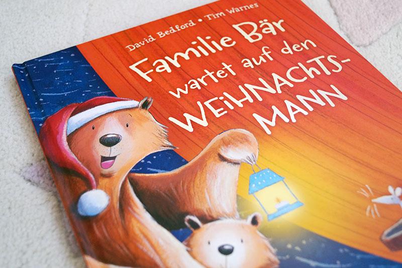 Kinderbuch-Adventskalender | 2. Dezember | Familie Bär wartet auf den Weihnachtsmann