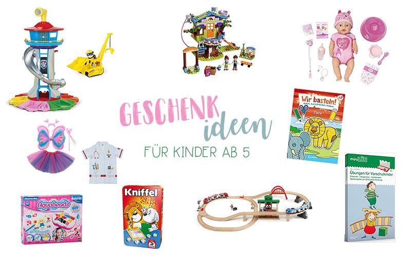 Geschenkideen für Kinder ab 5 Jahren | Geburtstagsgeschenke | Weihnachtsgeschenke