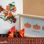 Schnelle Herbstdeko zum Selbermachen