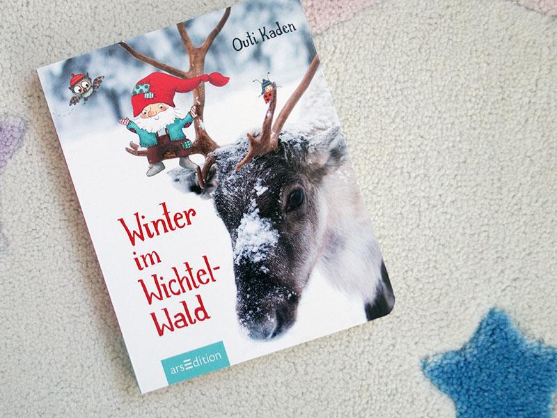 Kinderbuch-Adventskalender | 6. Dezember | Winter im Wichtelwald