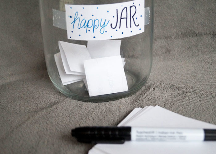 Schöne Momente sammeln mit dem Happy Jar