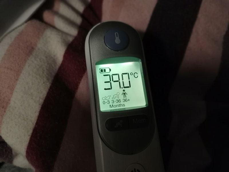 Ich habe Fieber und muss ins Krankenhaus