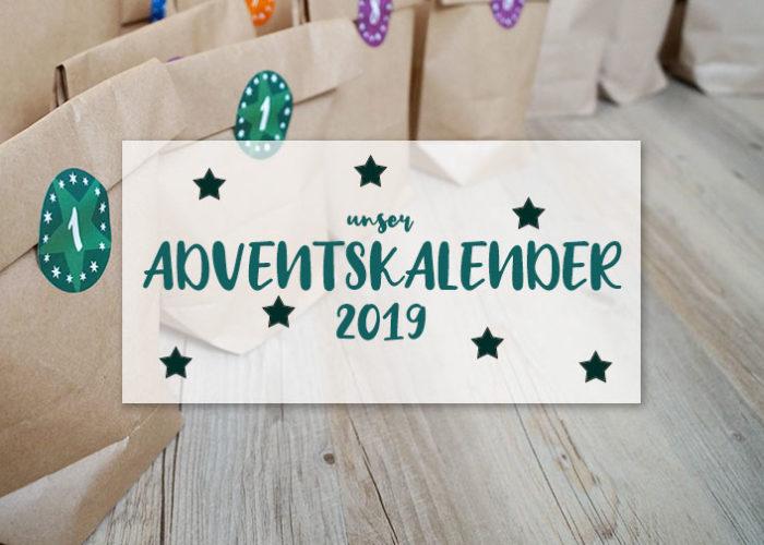 Unser Adventskalender 2019 | klitzekleinedinge