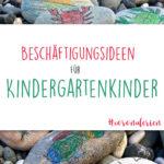 Conona-Ferien | Beschäftigungsideen für Kindergartenkinder