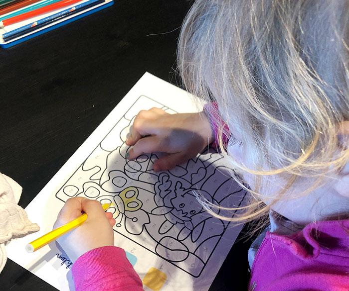 Kostenlose Ausmalbilder und Lernvorlagen zum Ausdrucken