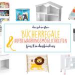 Inspiration | Schöne Aufbewahrung für Kinderbücher