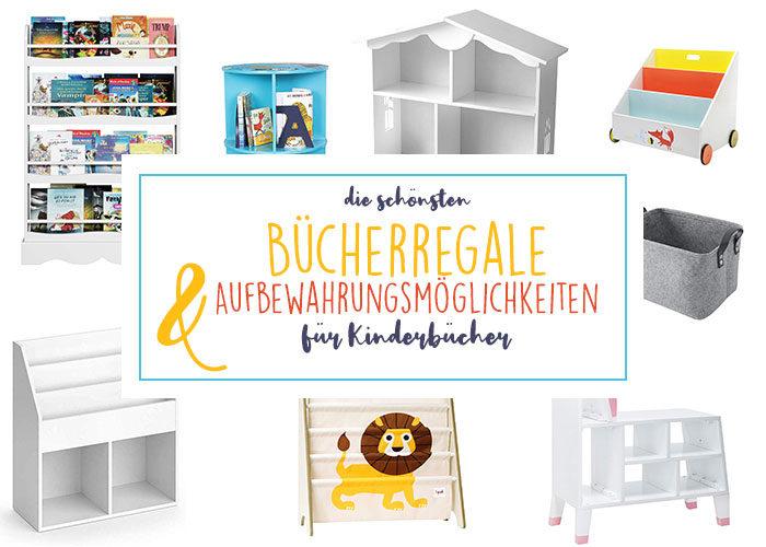 Inspiration | Schöne Aufbewahrungsmöglichkeiten für Kinderbücher