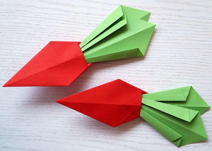 Osterdeko | schnell & einfach ohne Einkaufen | Origami, Steine, Papier