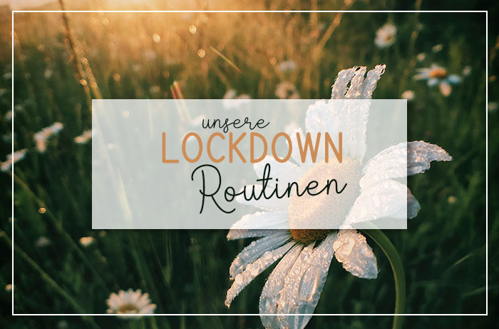 Unsere Lockdown Routine | klitzekleinedinge